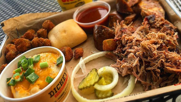 dickeys barbecue food