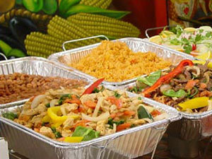 disposable catering restaurants off premise