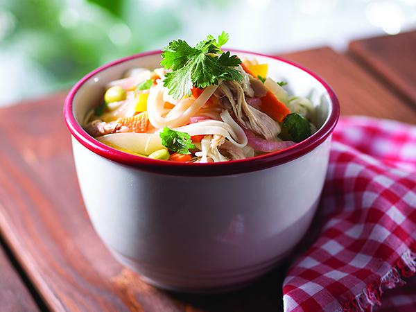 Disney Food Trucks noodle salad