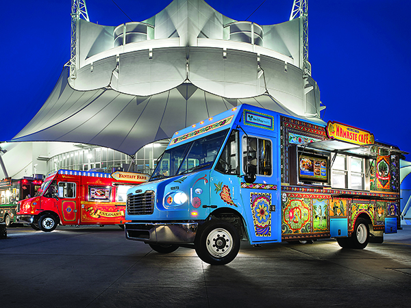 Disney world food trucks for Design food truck online