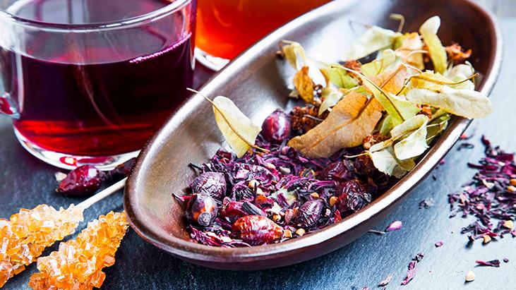 dried tea hibiscus