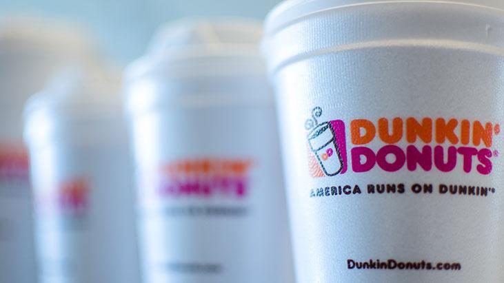 dunkin donuts coffee cups