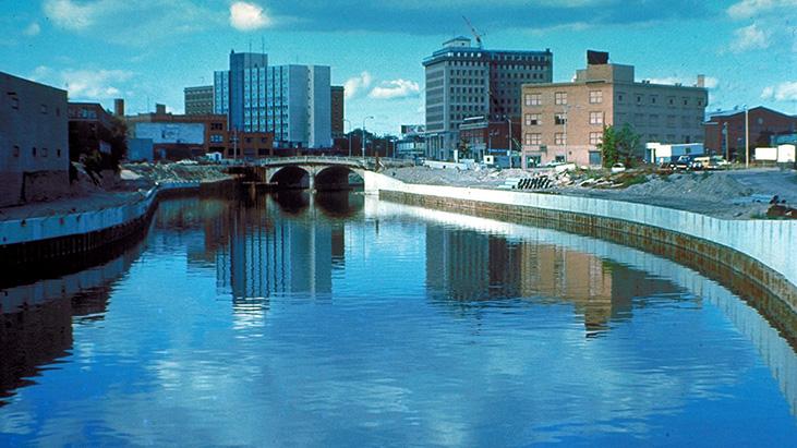 Flint River, Flint, Michigan