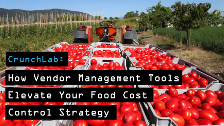 food cost vendor management