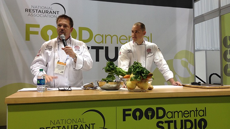 foodamental studio nra show