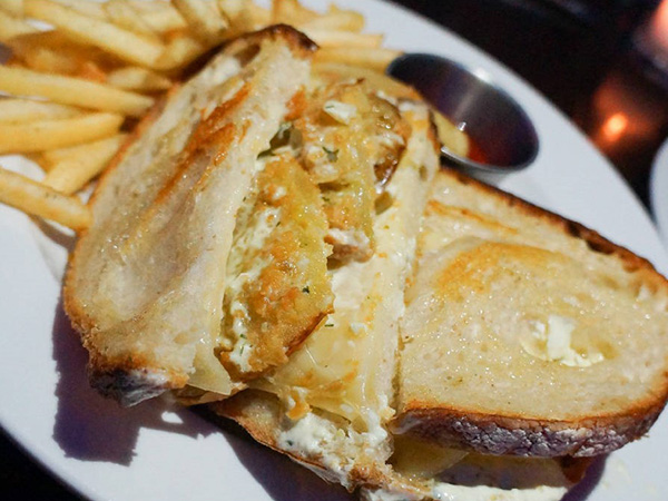 Fried Green Tomato Sandwich - Monarch