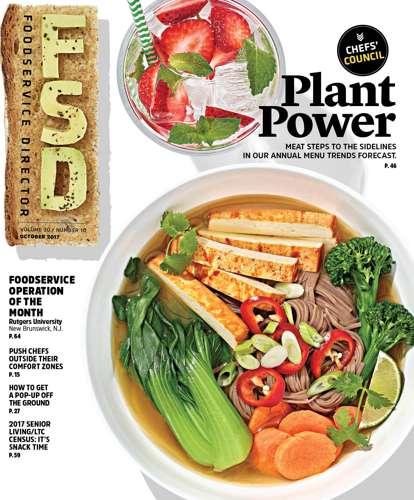 FoodService Director Magazine Foodservice Director | October 2017 Issue