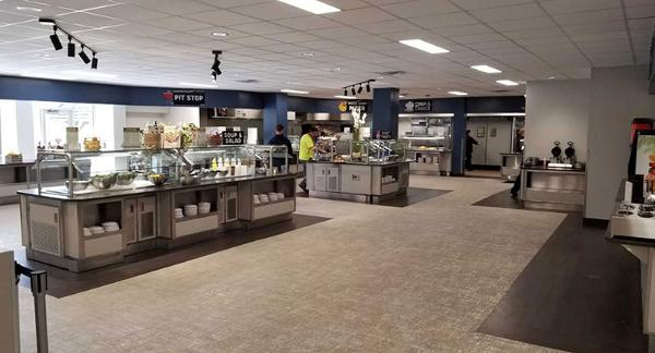 How Columbia College Missouri Made A Dining Hall More Modern