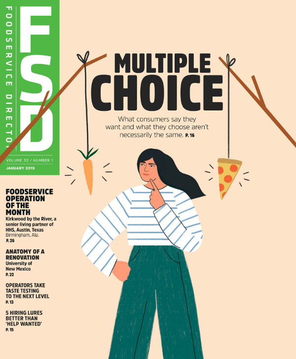 FoodService Director Foodservice Director | January 2019 Issue