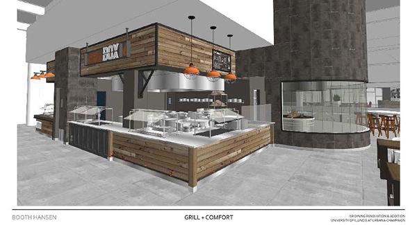See What S In Store For A New Eatery At The University Of Illinois