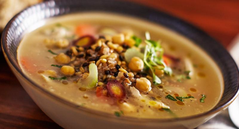 ancient grains soup