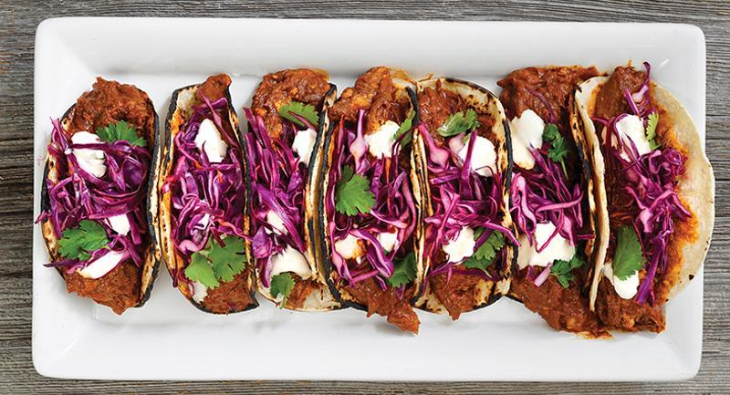 Lamb Barbacoa Street Tacos