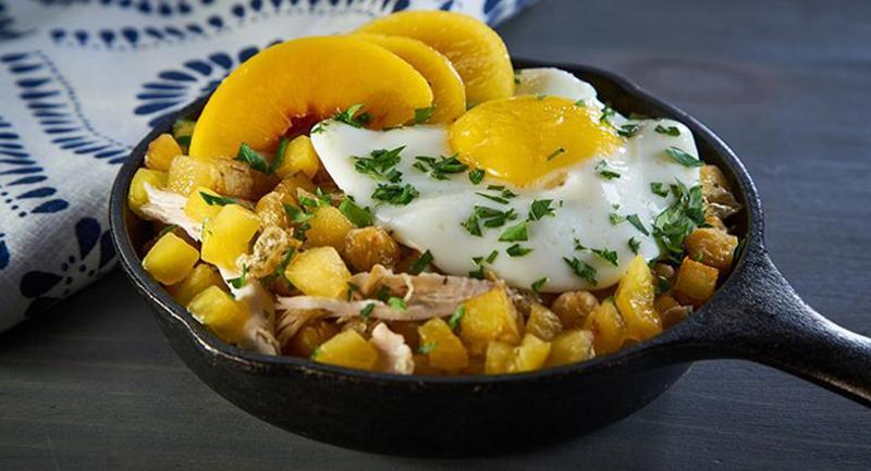 Egyptian Breakfast Hash