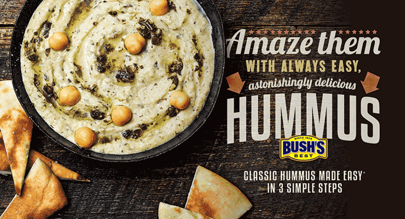 bush hummus