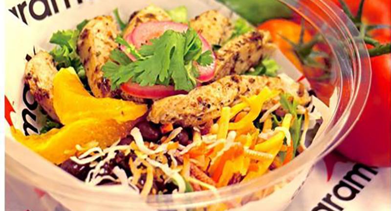 aramark caribbean chicken salad