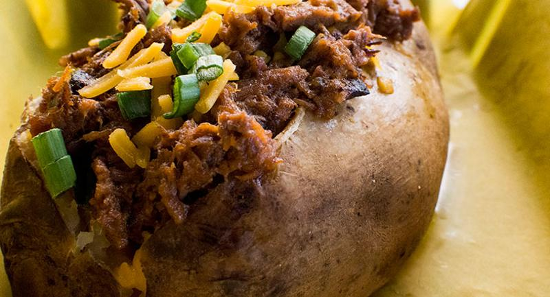 bbq baked potato