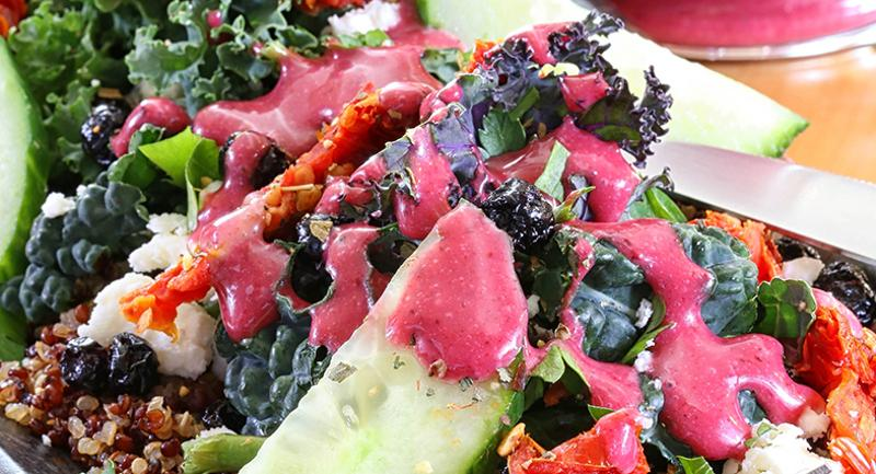 blueberry chopped salad