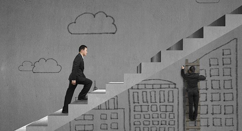 career stairs ladder