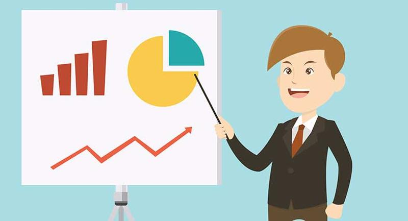 chart presenting