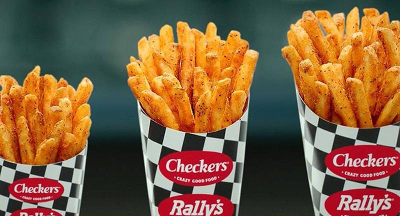 checkers fries sizes