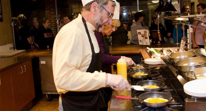 chef omelet station