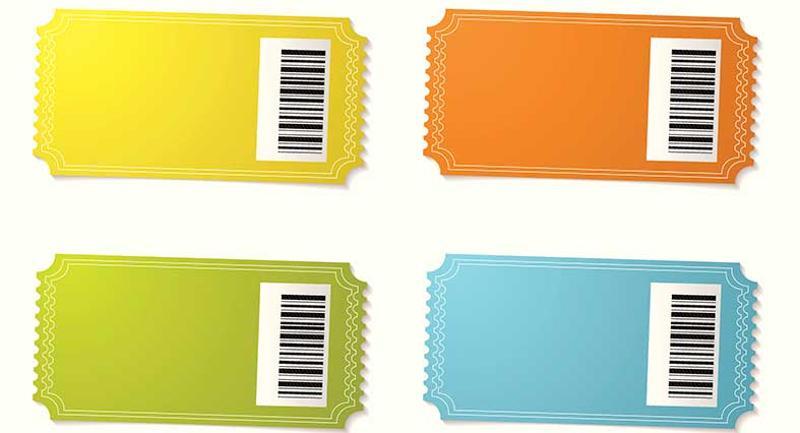 color tickets