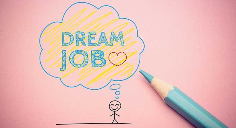 dream job illustration