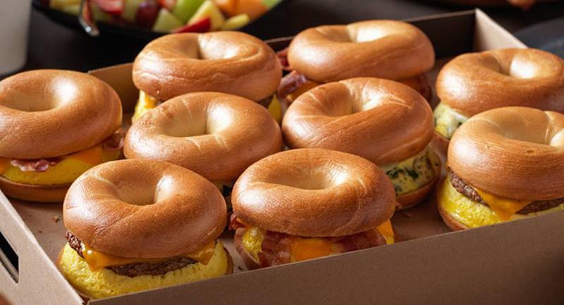 einstein bros bagel sandwiches