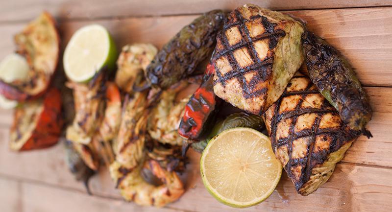 Marinated Seafood El Yucateco