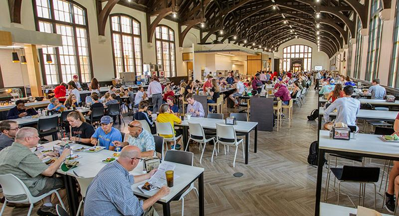 Florida state dining hall