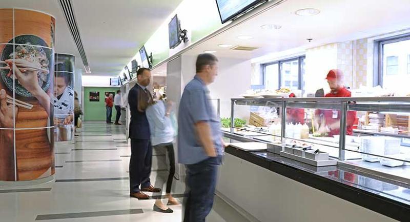 food hall stations