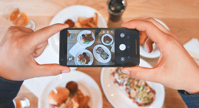 food on Instagram