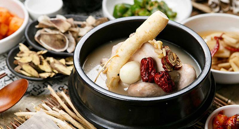 ginsing chicken soup