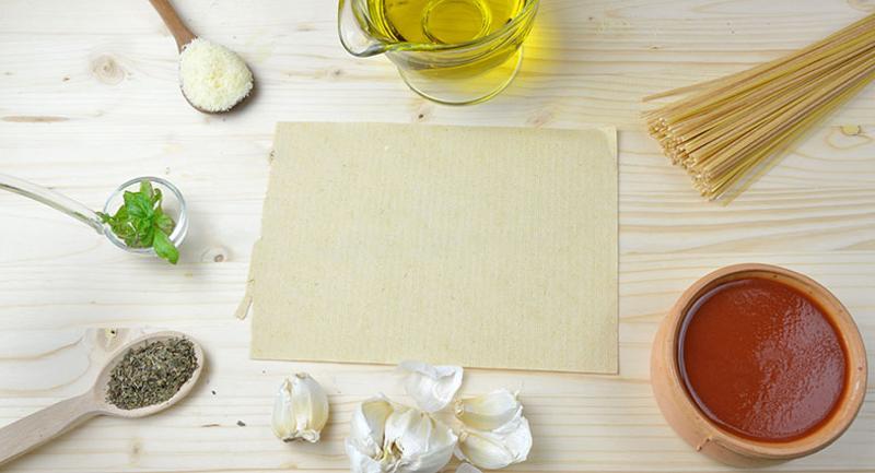 ingredients sheet