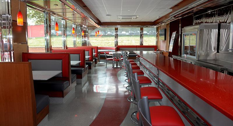 Look inside Sacred Heart University's '50s diner  Look inside Sac...