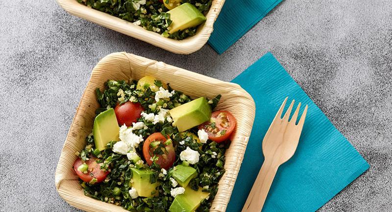 Kale-Avocado Tabouli Salad