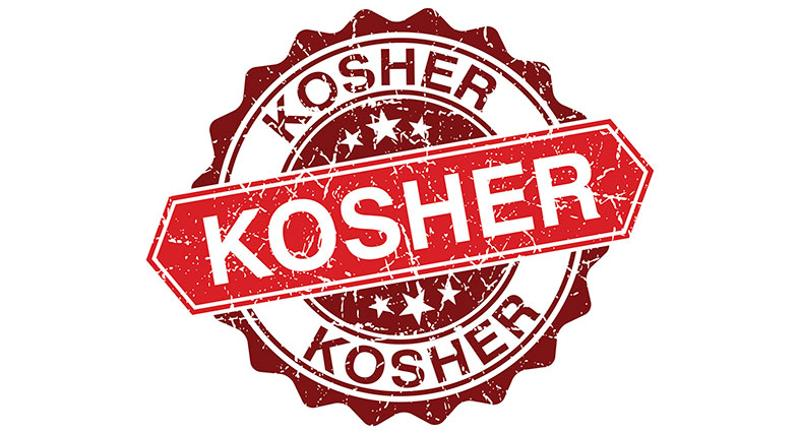 kosher stamp certified