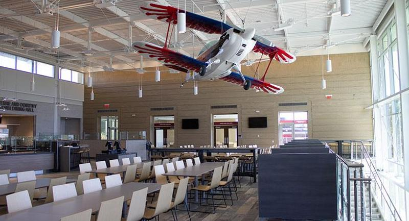 Lewis University Aviation Dining Hall