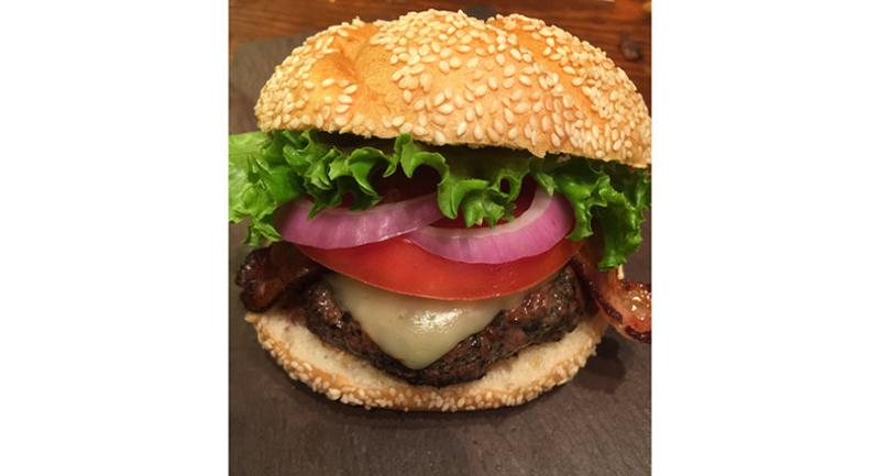 logans underground supper club blended burger