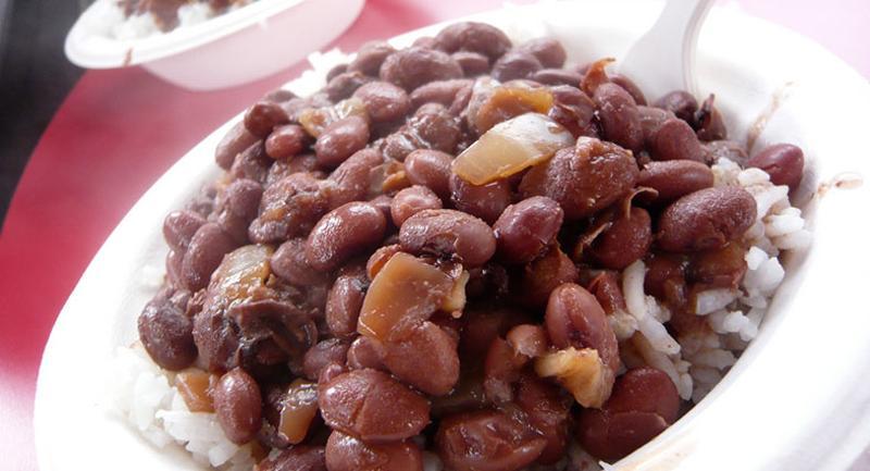 rice beans bowl