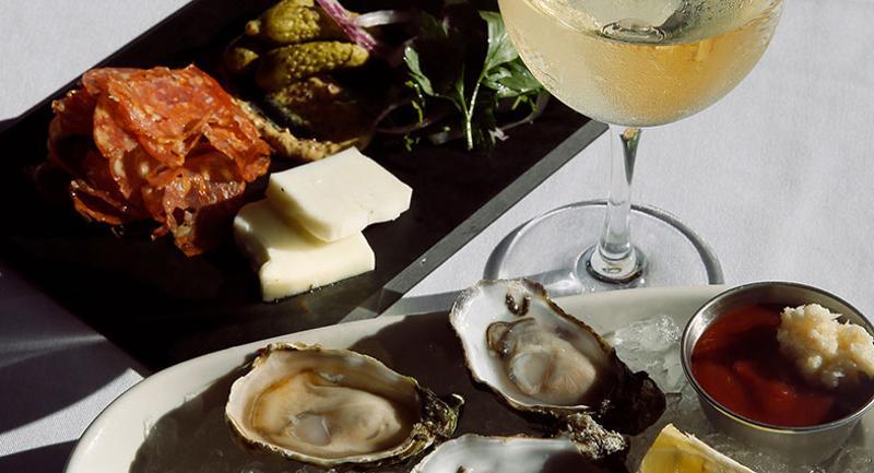 seafood charcuterie board