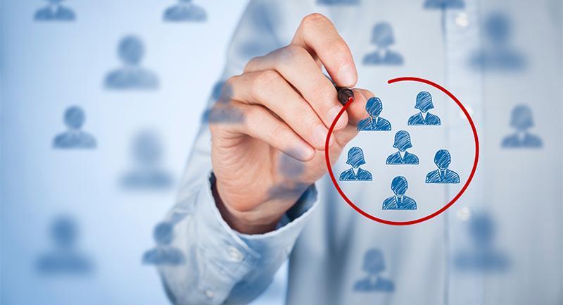 selecting segment recruitment people