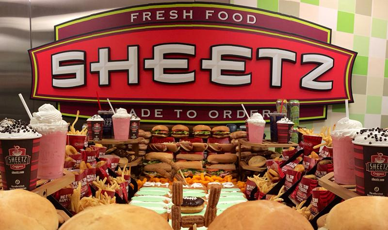 Sheetz Kickin' Chicken Sausage Sandwich