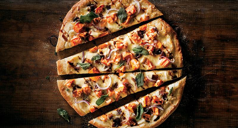 Simplot sweet potato pizza