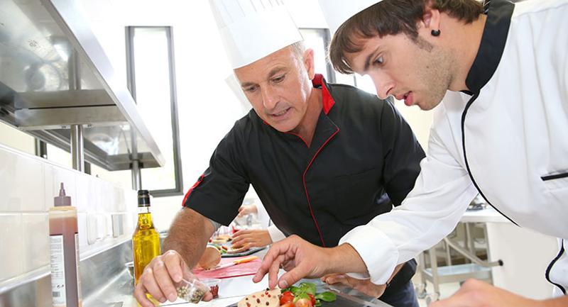Student chef