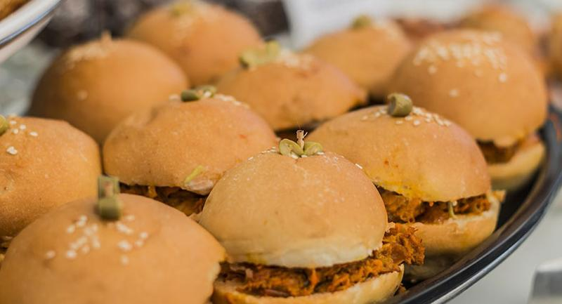 sweet and tangy sliders