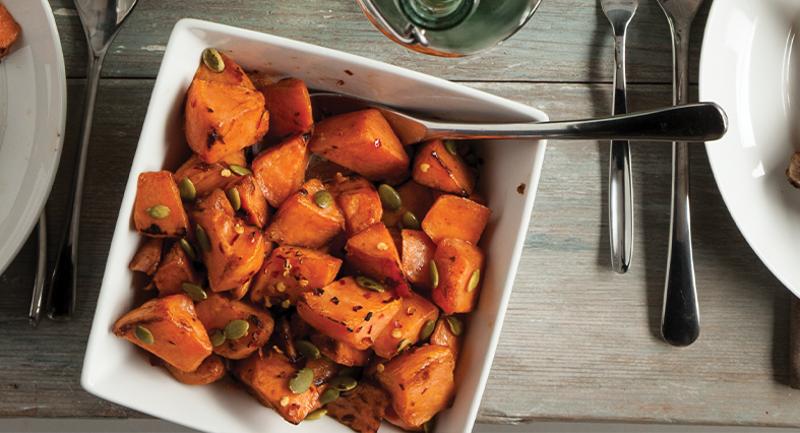 Simplot roasted sweet potato