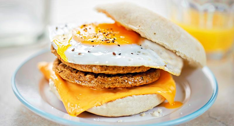 turkey breakfast sandwich