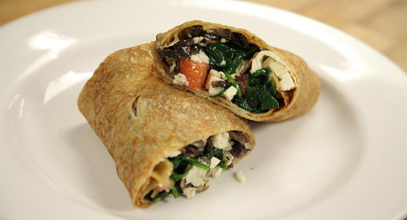 usc spinach crepe