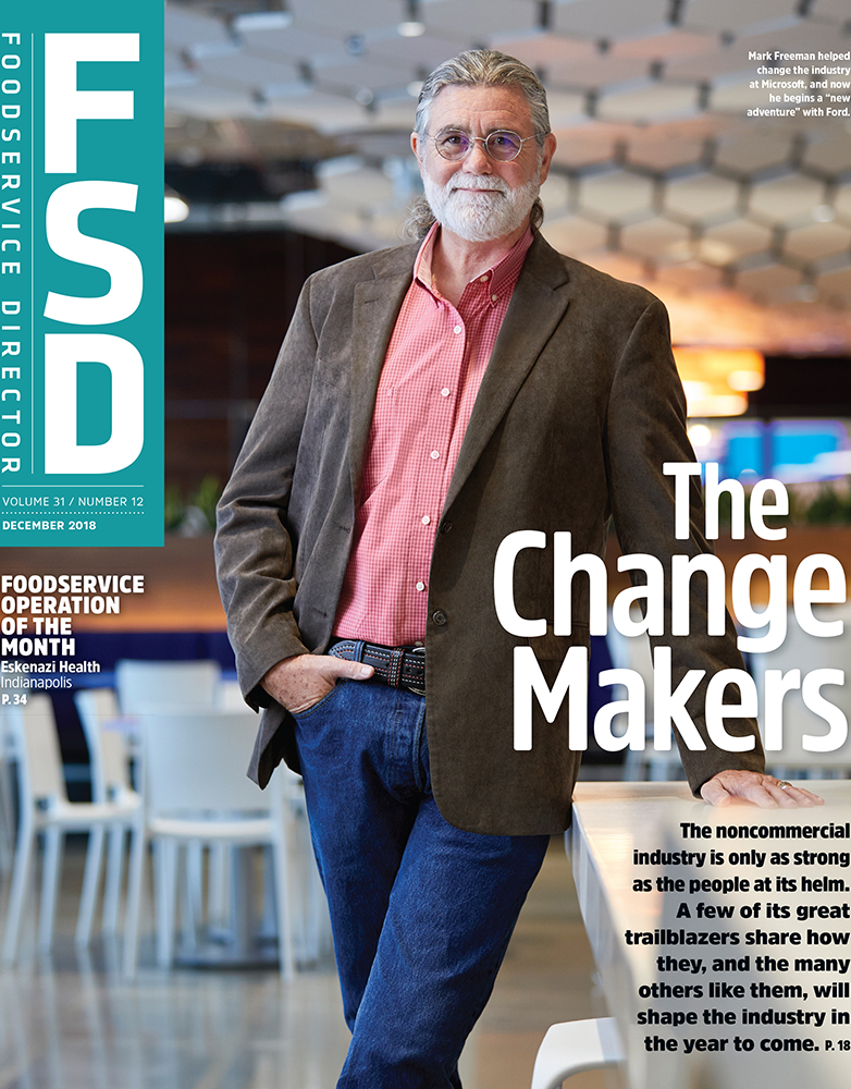 FoodService Director Magazine Foodservice Director | December 2018 Issue